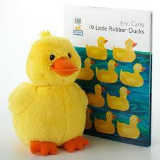 ducks, kids book, childrens stories, Eric Carle, 10 Rubber Duckies