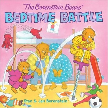berenstain, stan jan mike berenstain, battle of bedtime, bedtime routine