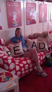 Target, Miami Book Fair, reading lounge