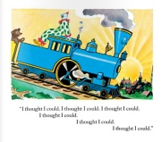 The Little Engine That Could by Watty Piper, engine's smile