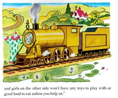 The Little Engine That Could by Watty Piper, shiny new engine