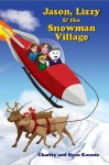 Jason-Lizzy-and-the-Snowman-Village-198x300