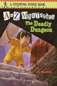 a to z mysteries deadly dungeon ron roy